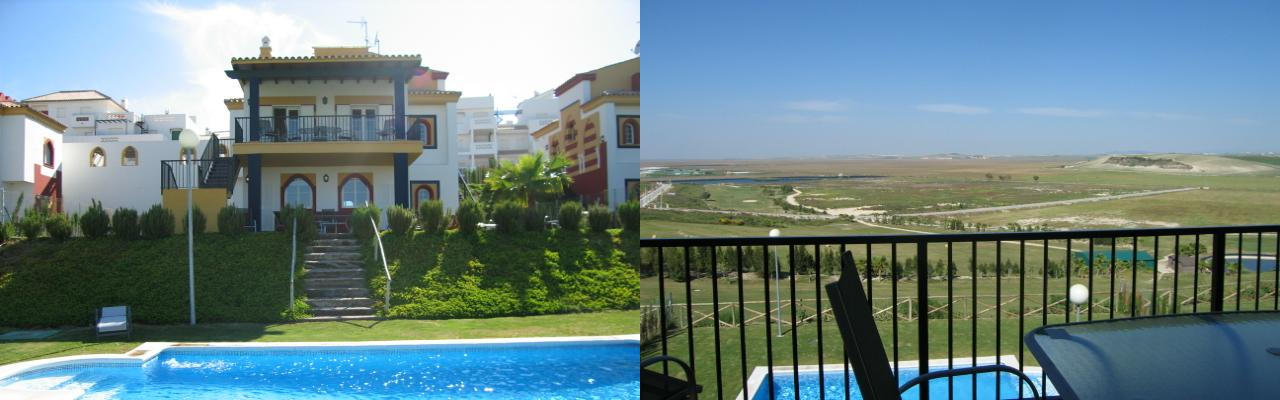 Our beautiful, exclusive and very special villa with pool in Sanlucar de Barrameda